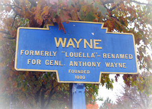Wayne Keystone Marker